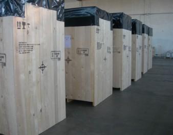 Casse in legno assemblate