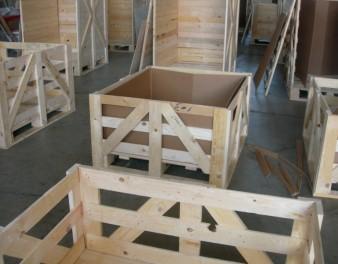 Imballaggi in legno con capacità continuativa