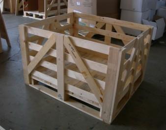 imballaggio in legno con capacità continuativa