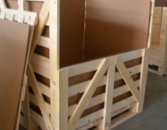 Interno di imballaggio in legno con capacità continuativa