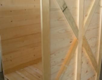 Iimballaggio in legno con capacità continuativa